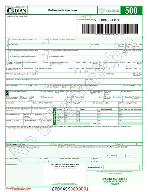 formulario para declaracion de impuesto de vehiculos formulario declaracion vehiculos importacion de argentina