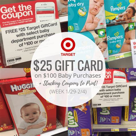Gift Card Deals Target - pers coupons 2017 save up to 3 on pers diapers wipes