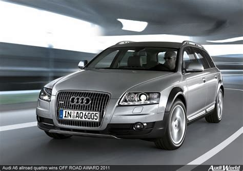 Audi A6 Offroad by Audi A6 Allroad Quattro Wins Road Award 2011 Audiworld