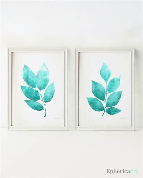 printable wall art sets wall art set of 2 prints teal home decor wall art printable