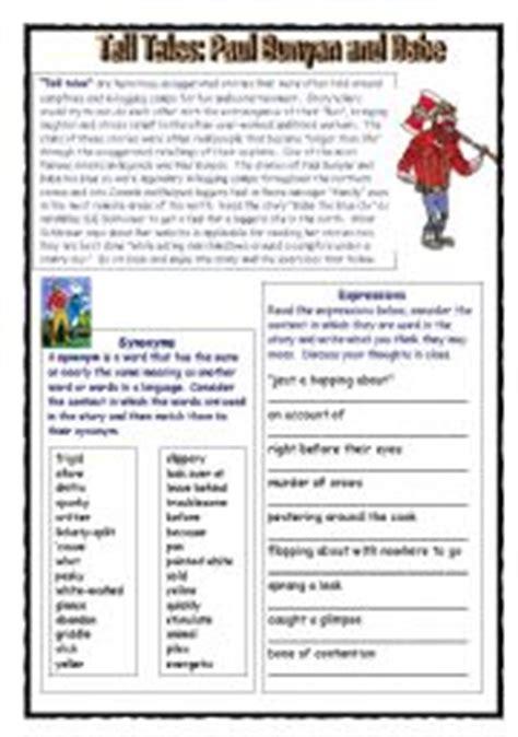 printable version of paul bunyan free worksheets library download and print worksheets