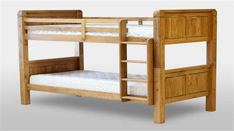 Chunky Bunk Beds Chunky Pine Bunk Bed Homegenies