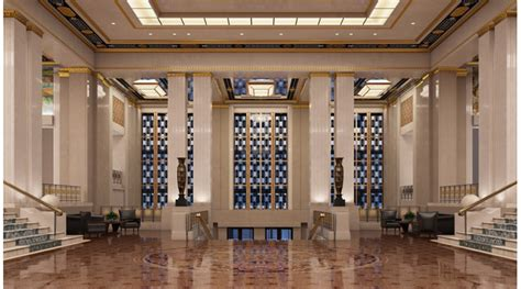 3d Furniture Library art deco hotel lobby 3d library 3d scenes interior