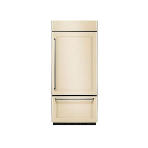 What Is A Panel Ready Refrigerator by Kitchenaid Kbbr206epa 36 Quot Built In Panel Ready Bottom