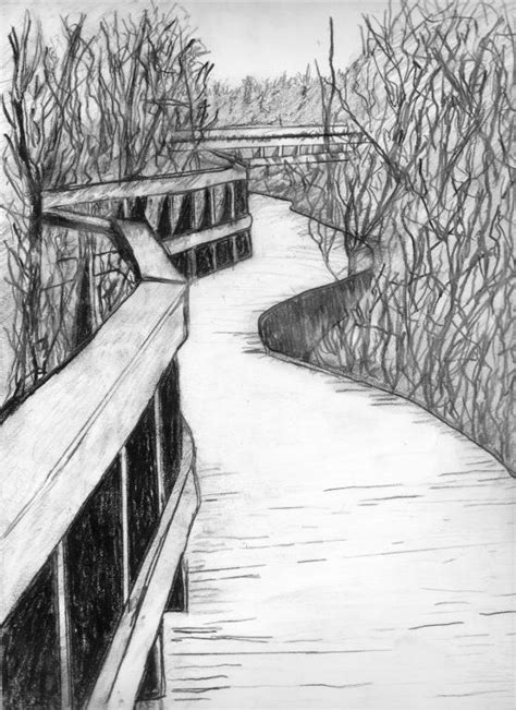 landscape drawing ideas 6 charcoal drawing ideas craftsy