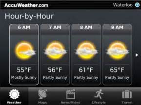 accuweather for blackberry