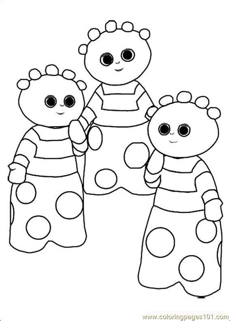 garden party coloring pages 34 best p a r t y in the night garden images on
