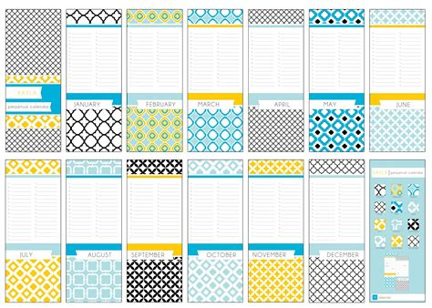 free printable birthday calendar templates birthday calendar printable template calendar template 2016