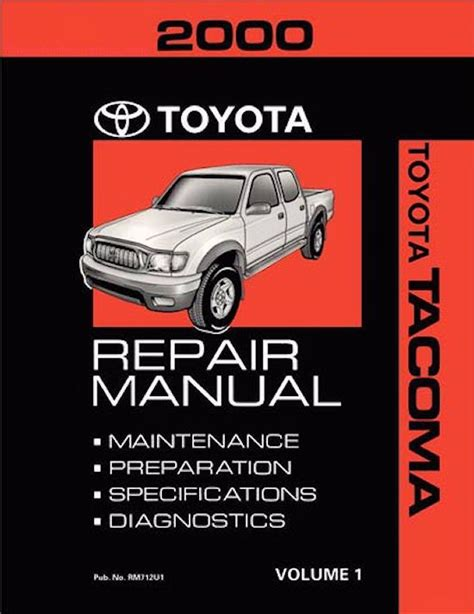 car owners manuals free downloads 2000 toyota tacoma xtra parental controls 2000 toyota tacoma oem repair manual rm712u