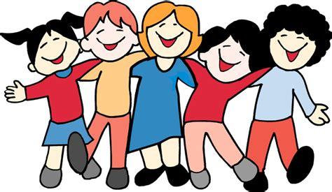 clipart bambini a scuola sta disegno di bambini a scuola a colori