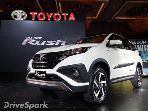 toyota rush revealed specifications images