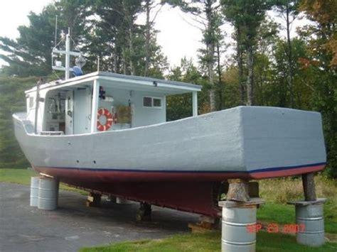 fishing boats for sale east coast 1976 wood fiberglass east coast fishing vessel boats
