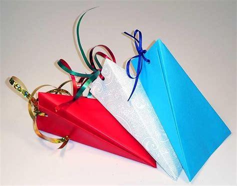 kleine geschenkverpackung basteln origami schachtel ausgefallene geschenkverpackung selber