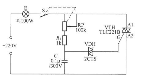 bidirectional diode circuits bidirectional scr dimming light circuit with bidirectional trigger diode control circuit
