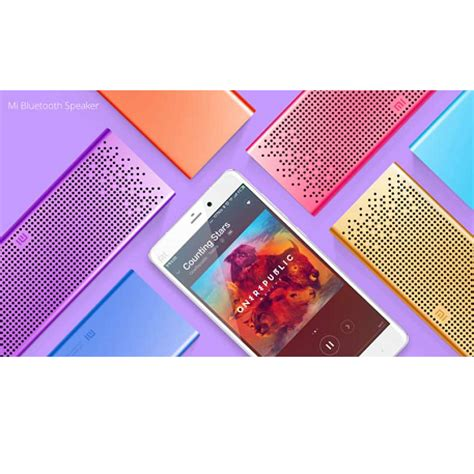 Speaker Xiaomi Mi Bluetooth Gold xiaomi mi bluetooth speaker gold reviews price buy at