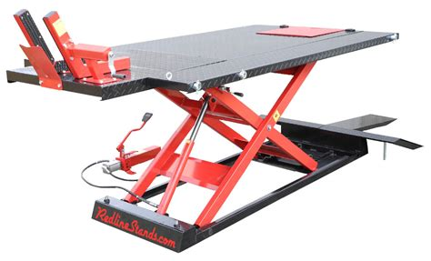 redline 1500hd motorcycle atv lift table free shipping
