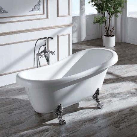 baignoire ilot 150 cm baignoire acrylique blanc prague baignoire ilot ovale