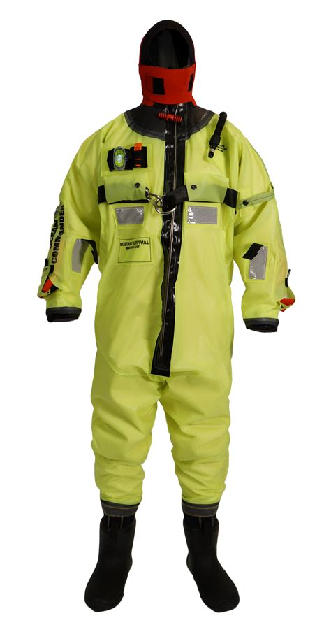 mustang immersion suit mustang survival launches new commander immersion
