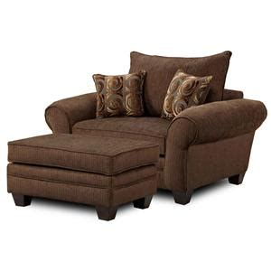 big chairs with ottoman townhouse mh910 oversized chair and ottoman combination