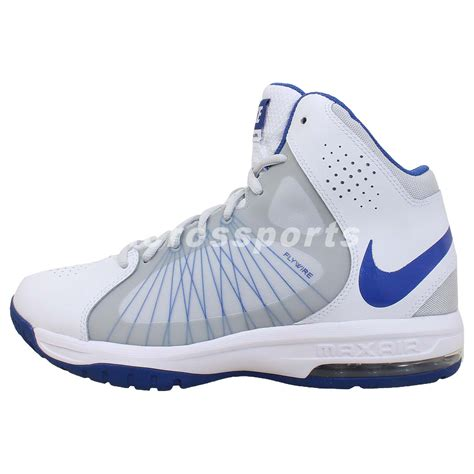 flywire nike basketball shoes nike air max actualizer ii 2 white blue flywire 2014 mens