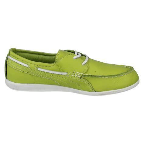 boat shoes puma ladies puma boat shoes style yacht ebay