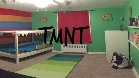 ninja bedroom theme teenage mutant ninja turtle themed bedroom for toddler
