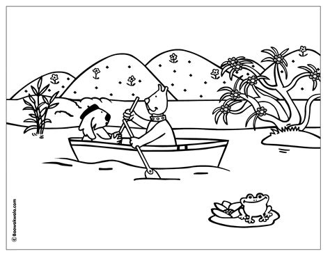 Lake Colouring Page Www Pixshark Com Images Galleries Lake Coloring Page