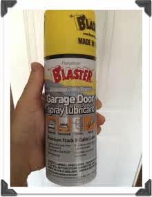 Blaster Garage Door Lube Lubricating Garage Door Chain Images