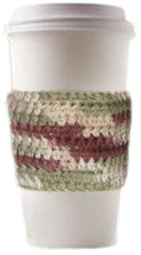 free knitting pattern coffee cup sleeve free crochet coffee cup holder pattern crochet and