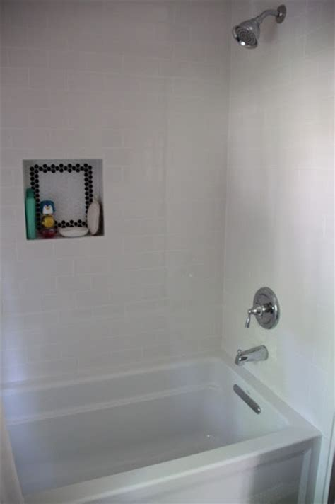 subway tile shower niches bathrooms pinterest white subway tile and shower niche bathroom pinterest