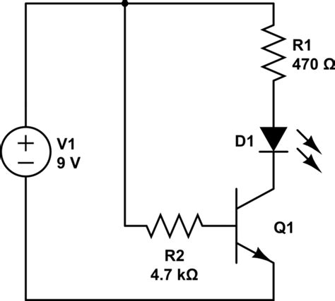 resistors used with transistors single led single transistor circuit not working electrical engineering stack exchange
