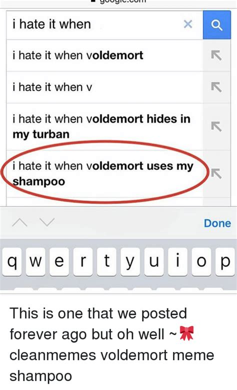 I Hate It When Memes - 25 best memes about voldemort meme voldemort memes