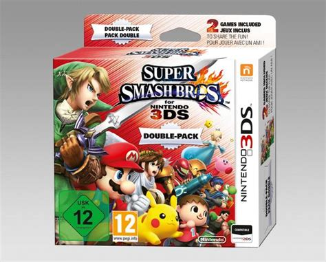 Smash Bros 3ds smash bros for 3ds pack is coming to europe dualshockers