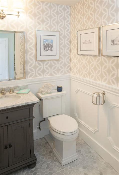st james bathrooms st james single vanity in powder room transitional