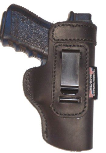 waistband holster concealed carry gun taurus pt145 light weight black right hand inside the