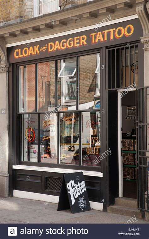 tattoo parlor on main street cloak and dagger tattoo shop cheshire street london