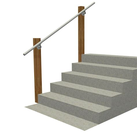 wall mounted banister wall 570 wall mounted stair railing easy install