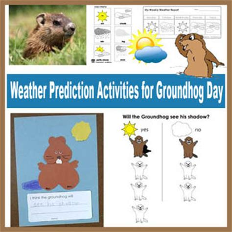 groundhog day kindergarten activities groundhog day preschool and kindergarten activities kidssoup
