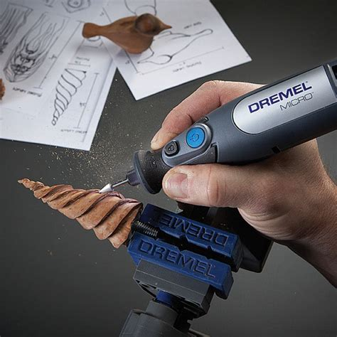 small scale woodworking the dremel micro 8050 is great for carving and small