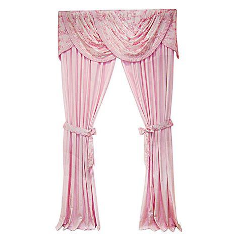 pink girls curtains princess curtains avas new room pinterest