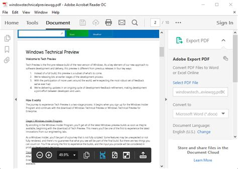 windows adobe reader free download 4 free pdf readers for windows 10