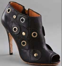Questionable Trend Alert Open Toed Booties by Shoe Trend Alert Get Acquainted With Peep Toe Booties