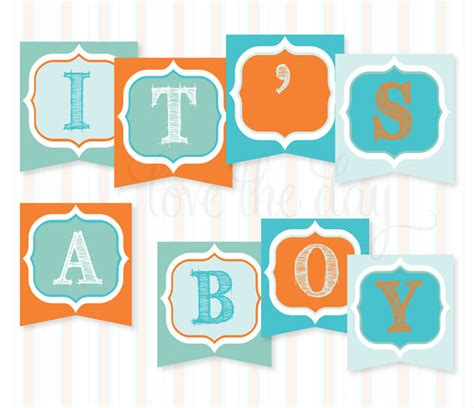 Printable Baby Shower Banners by 4 Best Images Of Boy Baby Shower Printable Banner Letters