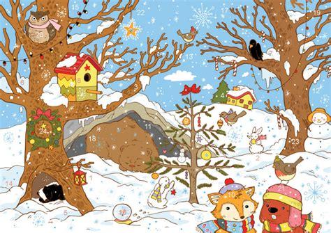 Printable Christmas Cards Activity Village | activity village online advent calendar 2015
