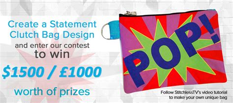 design contest terms and conditions make a statement clutch bag design contest