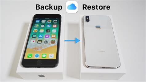 how to backup your iphone and restore to iphone x xr xs and xs max