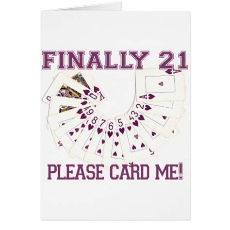 21st Birthday Cards Printable