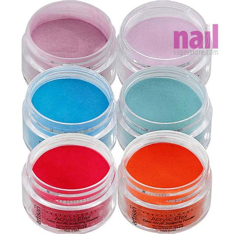 acrylic powder colors artisan colored acrylic nail powder glamorous designer