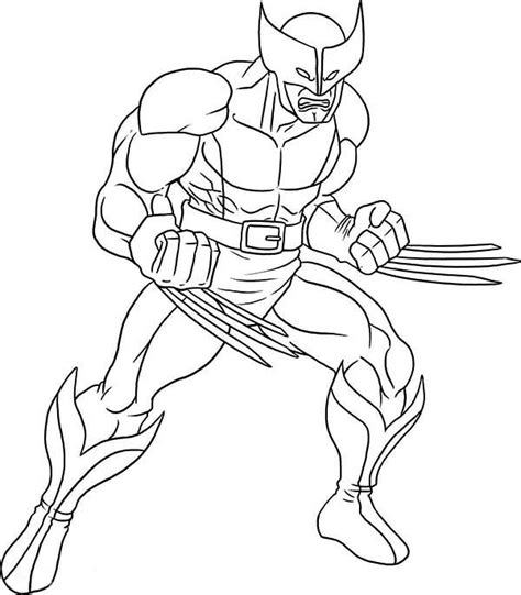 coloring pages wolverine x 15 wolverine coloring pages for sharp claws