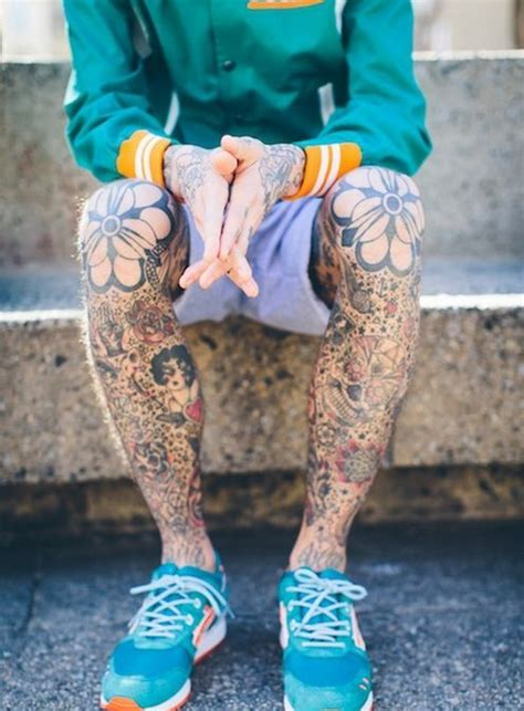 78 images about leg tattoos for men on pinterest tiger